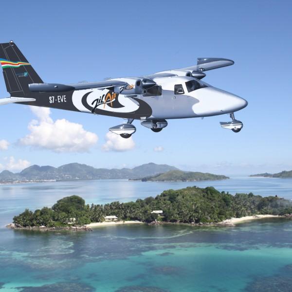 Vulcanair P68C - Seychelles