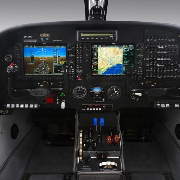 Vulcanair P68 Series Cockpit