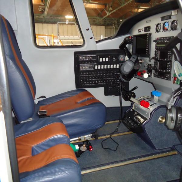 Vulcanair P68C Cockpit
