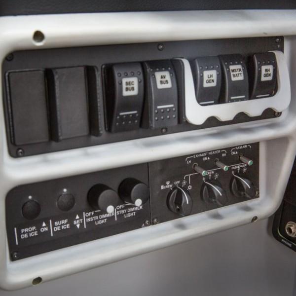 Vulcanair P68 Series Detalhe