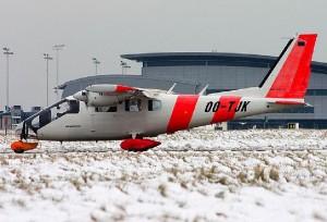 Avião é um dos destaques da polícia belga