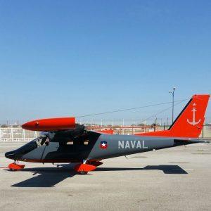 Vulcanair Observer na cores da Marinha chilena